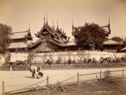 Mandalay. The Palace, West Front